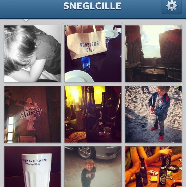Cecilie Rubini Sneglcille Instagram